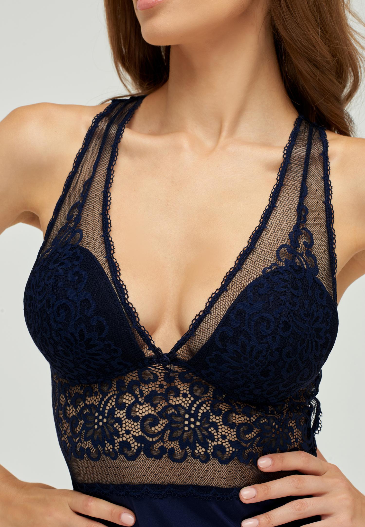 Женские ночные сорочки A7-01PS103-BL Marc & André